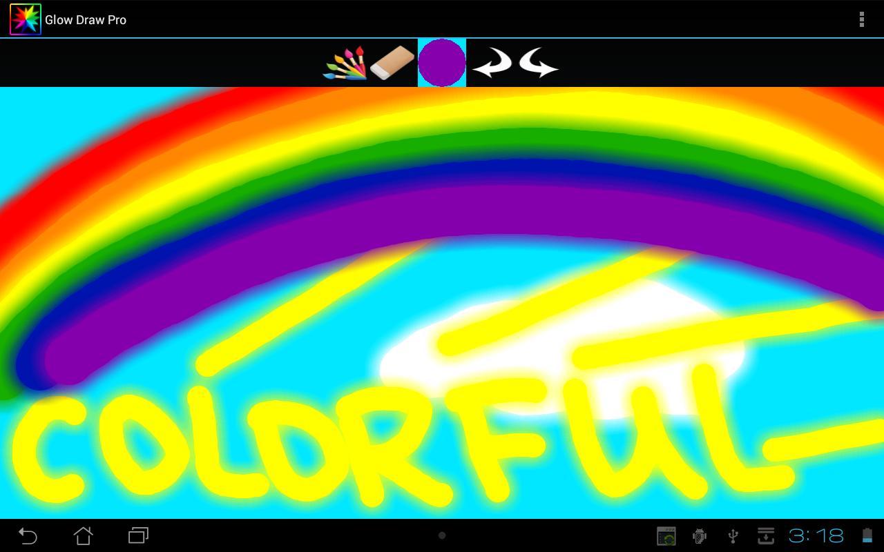 Glow Draw- screenshot
