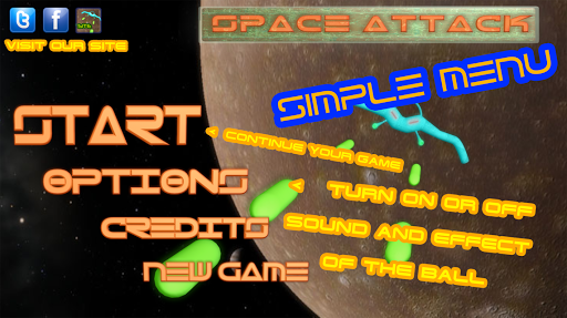 Space Attack HD arkanoid