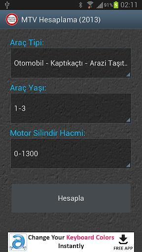 Motorlu Taşıt Vergisi 2014