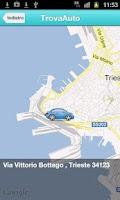 Screenshot of Allie GPS Car Locator