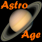 AstroAge astronomical age free icon
