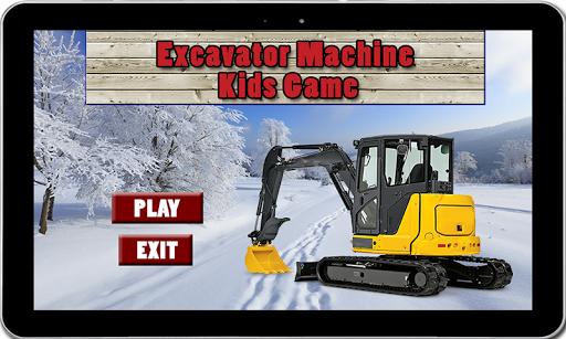 Excavator Machine Kids Game