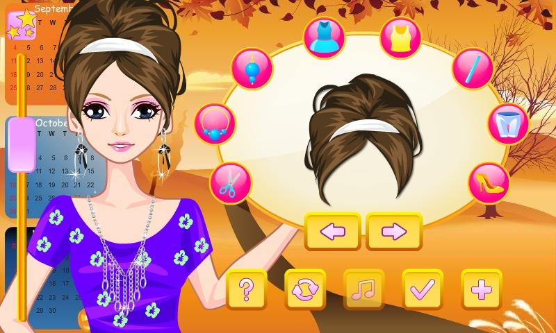 Weather Girl Dress Up - screenshot