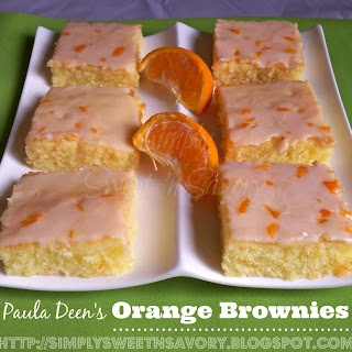Paula Deen's Orange Brownies.