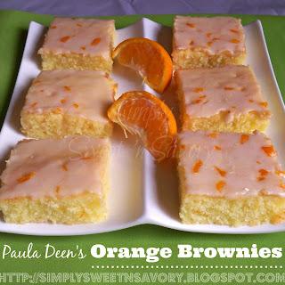 Paula Deen's Orange Brownies.