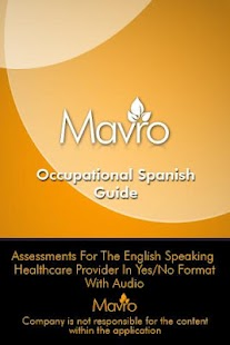 Occupational Therapy Spanish- screenshot thumbnail