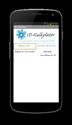 SD-Kalkylator
