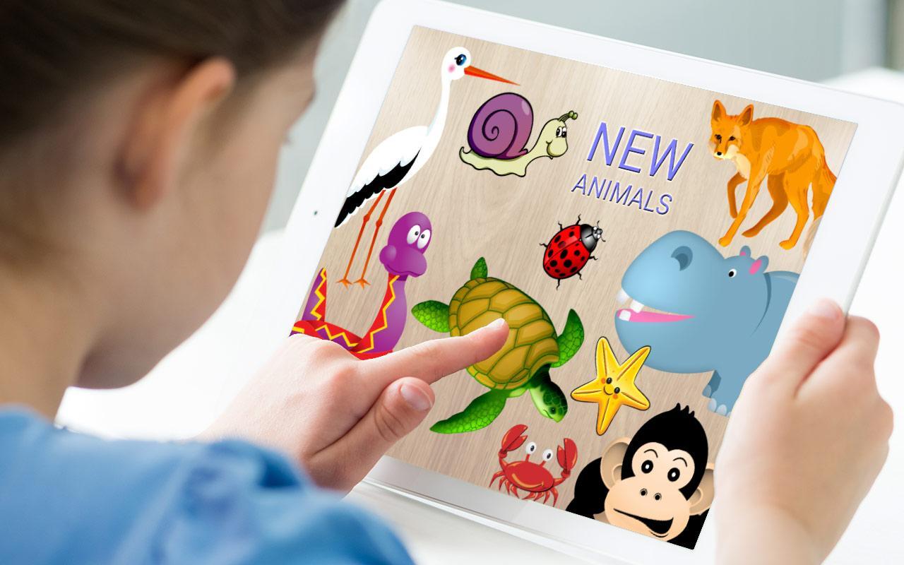Puzzles animales para ni os aplicaciones android en - Puzzles para ninos pequenos ...