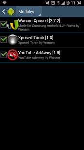 Xposed Torch: Physical Buttons - screenshot thumbnail