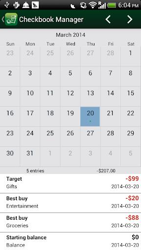 玩財經App|Checkbook Manager免費|APP試玩
