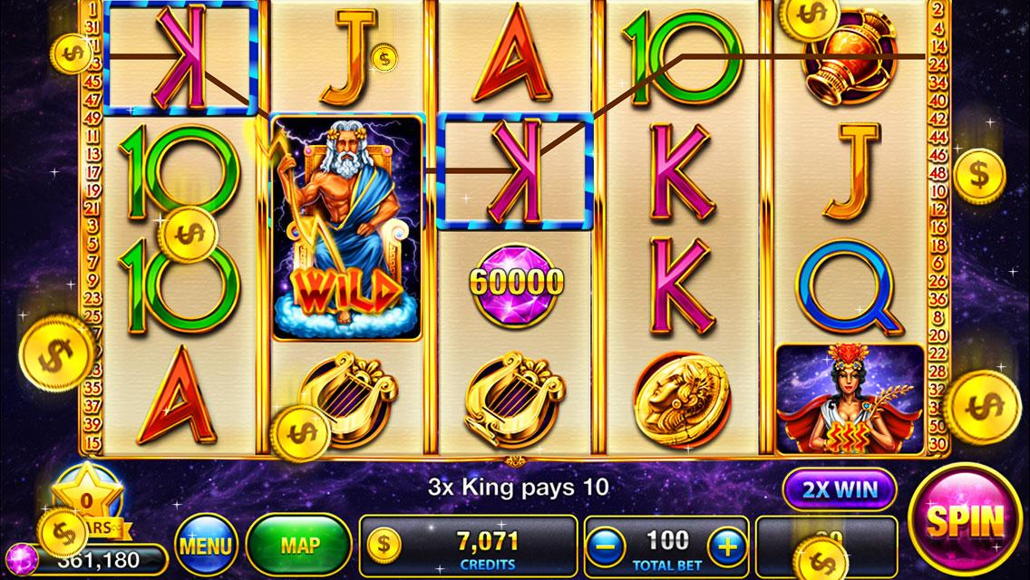 Slots Zeus's Way:slot machines - screenshot