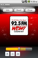 Screenshot of 92.5 WBWI