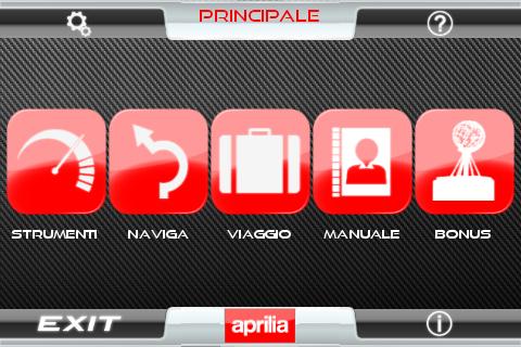 Aprilia MultimediaPlatform