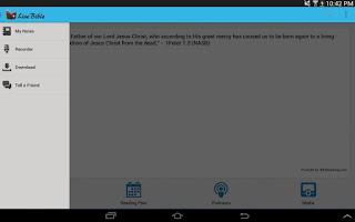 Screenshot of Live Bible pro