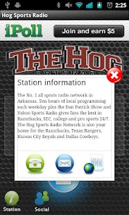Hog Sports Radio - screenshot thumbnail