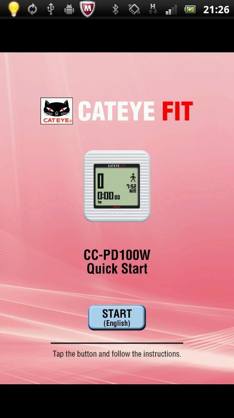 Cateye FIT-EN- screenshot