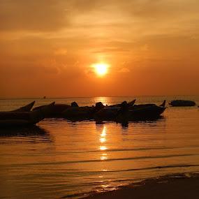 Sunrise at Tidung Island by Diadjeng Laraswati H - Landscapes Sunsets & Sunrises (  )