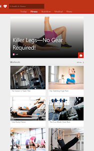 MSN Health & Fitness- Workouts v1.1.0
