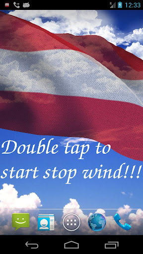 3D Austria Flag LWP +