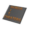 Words With Cheaters Free icon