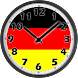 Germany Flag Analog Clock