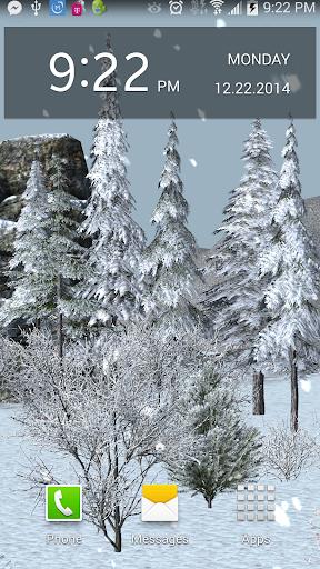 Winter Wonder Live Wallpaper