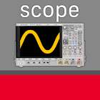 Keysight Oscilloscope Mobile icon