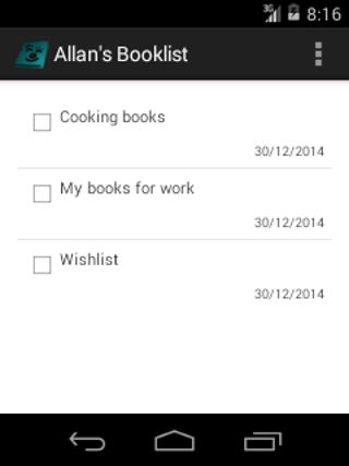 Allan's Booklist