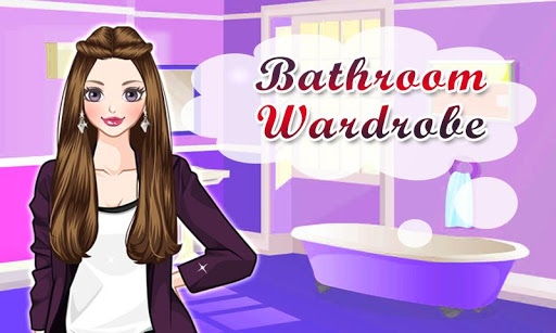 Dress Up Bathroom Wardrobe