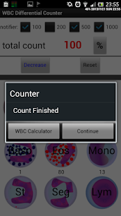 WBC Counter - screenshot thumbnail