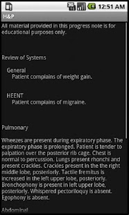 Smart Medical Apps - H&P- screenshot thumbnail