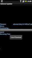 Screenshot of Adlxmod Updater
