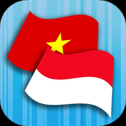 Indonesian Vietnamese Translat Icon