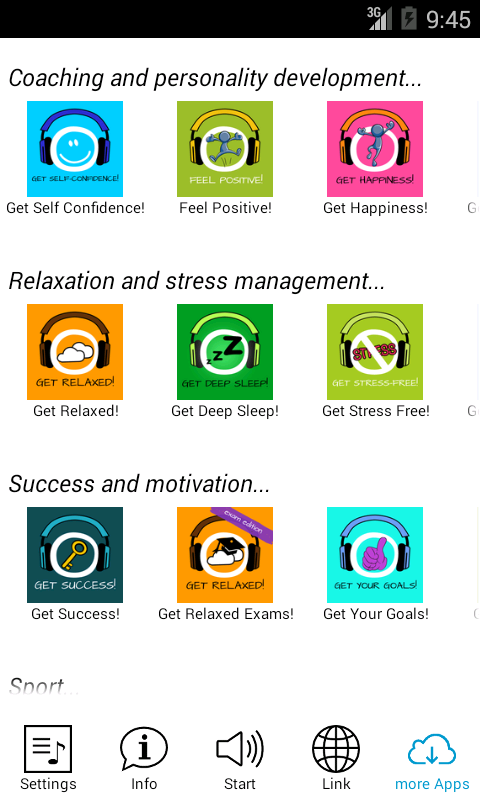 Get Relaxed free! Hypnosis- screenshot