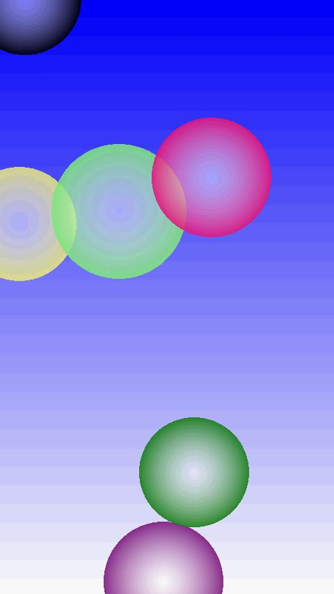 Soap bubble (for kids) FREE- screenshot