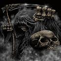 Grim Reapers Skull Live Wallpa