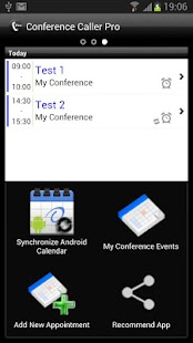 Conference Caller Pro - screenshot thumbnail