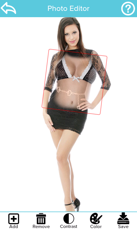 Naked Scanner Free (Girls) - screenshot
