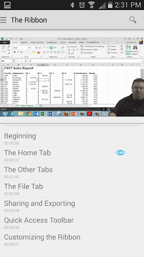 kApp - Training for Excel 2013