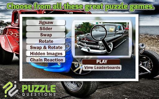 Car Puzzle Games
