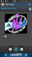 Screenshot of Radio Nepali
