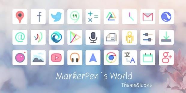 Marker Pen Style Theme