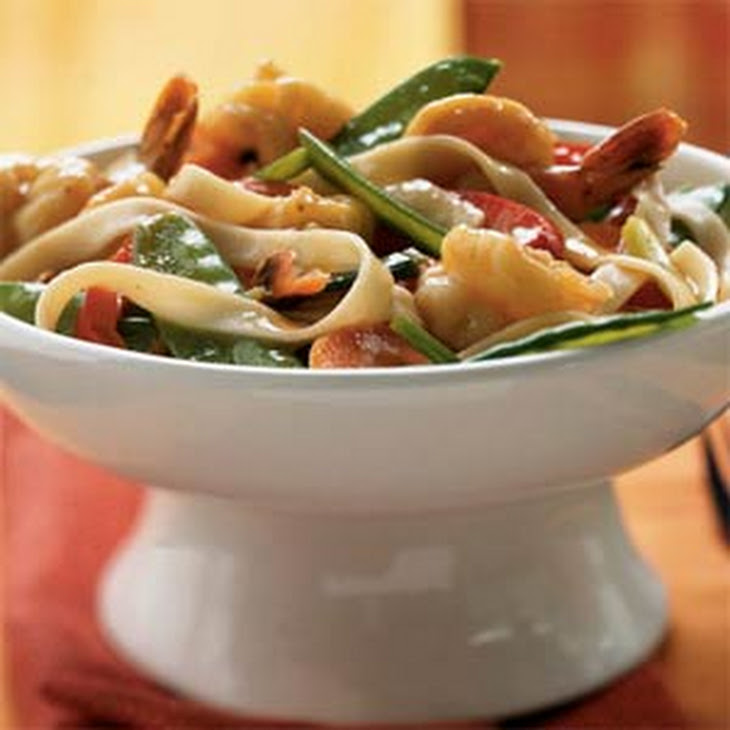 Butterflied Shrimp and Vegetable Stir-Fry Recipe