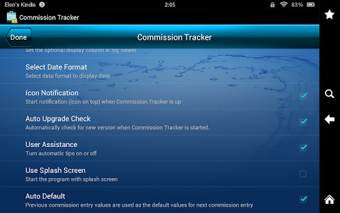 Commission Tracker- screenshot thumbnail