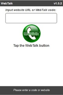 WebTalk Mobile - screenshot thumbnail