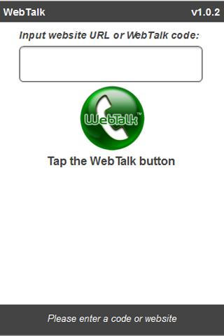 WebTalk Mobile - screenshot