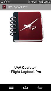 UAV Logbook - náhled