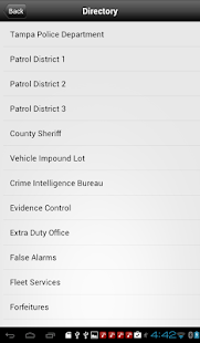 TampaPD Mobile - screenshot thumbnail