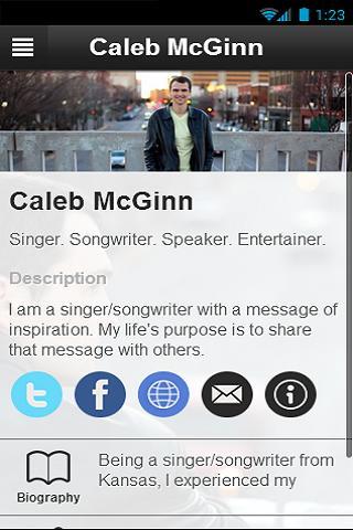 【免費音樂App】Caleb McGinn-APP點子