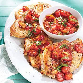 Tomato-Orange Marmalade Chicken